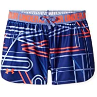 Under Armour Printed Play Up Short Pantalón Corto, Niñas, Azul (574), XL