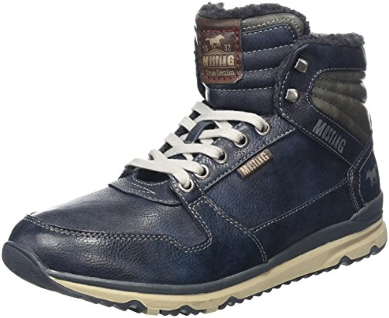 Mustang Herren High Top Sneaker Kurzschaft StiefelMustang Herren Sneaker Kurzschaft Stiefel Billig und erschwinglich Im Verkauf