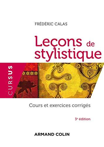Leçons de stylistique par Frédéric Calas