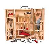 Unbekannt Partner Spielzeug - A0905592–Nachahmungsspiel - Werkzeugkoffer–Holz–31 Teile