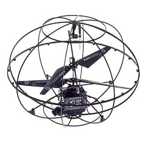 Helicoptere Soucoupe Volante UFO en Forme d'une Boule Sans Fil App Commandee Telecommande Radiocommande