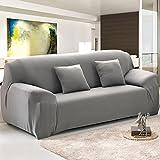 SSDLRSF Einfarbig Sofabezug Big Elasticity Stretch Couchbezug Loveseat Sofa Ecksofa Handtuch Möbelbezug 1/2/3/4 Sitzer (145-185cm), Farbe 5,4 Sitzer
