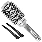 Best Brush For Blow Dryings - Round Hair Brush Blow Dry Drying Boar Bristle Review