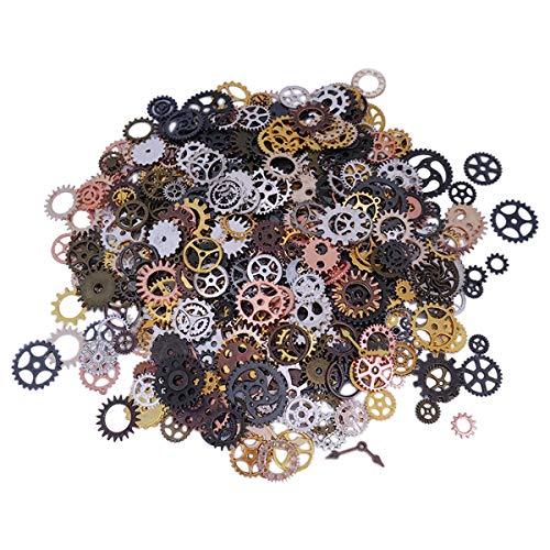 YXJD 500 Gramm Steampunk Anhänger Vintage Metall Pendant -