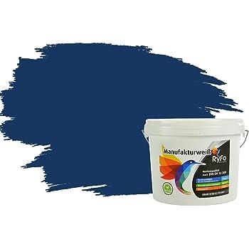 Alpina wandfarbe farbrezepte 2 5 liter blaue stunde matt hochdeckende farbe baumarkt - Wandfarbe deckkraft 1 ...