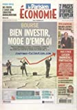 PARISIEN ECONOMIE du 19/11/2012 - BOURSE - BIEN INVESTIR - COMMENT CONNAITRE SON PROFIL D'INVESTISSEUR - LA PERSONNALISATION SE DEMOCRATISE - LUCIEN BARRIERE ET PARTOUCHE - BRUNO LAFONT - PDG DE LAFARGE