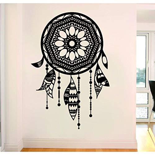 Pbbzl Etiqueta De La Pared Arte De Vinilo Atrapasueños Con Tatuajes De Pared Étnicos Hogar Sala De Arte Decoración Mural De Pared 57X80 Cm