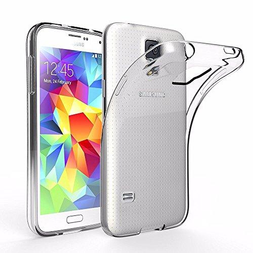 Samsung Galaxy S5 Mini Funda, iVoler TPU Silicona Case Cover Dura Parachoques...