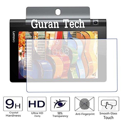 Guran® Displayschutz Glasfolie für Lenovo YOGA Tablet 3-8 850F (8 Zoll HD IPS) Hartglas Schutzfolie Film