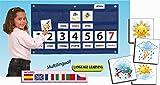 Akros 39000C - Calendario semanal para juegos de aprendizaje