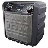 ION Audio Game Day 50 W Rechargeable Outdoor Speaker with Bluetooth Streaming, USB