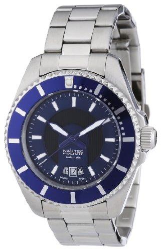 Nautec No Limit Herren-Armbanduhr Sea Lure SL AT/STSTBLBL