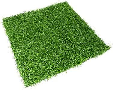 1 tapis imitation gazon herbe tapis tapis pelouse gazon artificiel carr vert env 38 cm x 38 cm