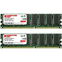 Komputerbay 2GB (2 x 1GB) DDR DIMM (184 PIN) KIT