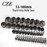 Generic 60mm: 13–100mm Bohrkrone Harte Legierung Metall Lochsäge Bohrer für Stahl Legierung Cutter Metall Arbeiten