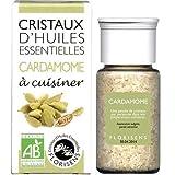 Florisens - Cristaux d'huiles essentielles cardamome bio - 20 g cristaux d'huile essentielle - Les