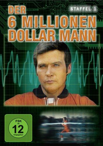 Der 6 Millionen Dollar Mann - Staffel 1 [4 DVDs]