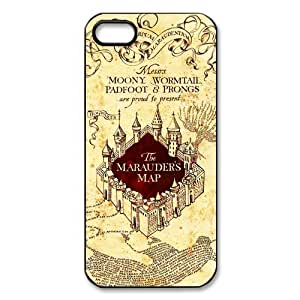 The Marauder's Map Harry Potter Series Cool Style iPhone 5 Case