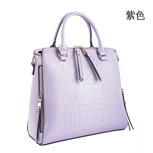 Mefly Il Coreano Moda Nuova Borsetta Borsetta Giallo Limone Violet