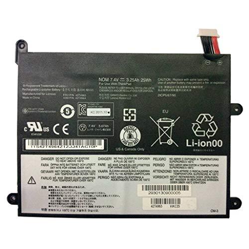 BPX Laptop Battery 7.4V 25Wh 3.25Ah 42T4965 for Lenovo ThinkPad 1838 10.1\