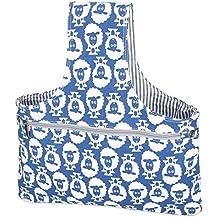 Teamoy Bolso de Ovillos Bolsa en Mano de Tejer Bolsos para Agujas Mochila de Crochet (