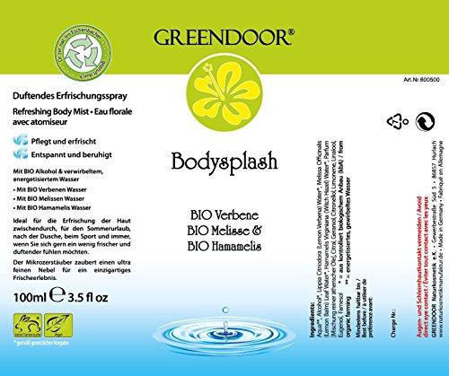 Greendoor intelligente Deo-Kombi zum Vorteilspreis: Body-Splash + Deo Creme, ohne Aluminium, vegan, Top Naturkosmetik aus der Manufaktur - 5