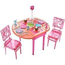 T7536 Mattel - Barbie muebles: comedor / Dining Room