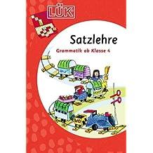 LÜK: Satzlehre: Grammatik ab Klasse 4