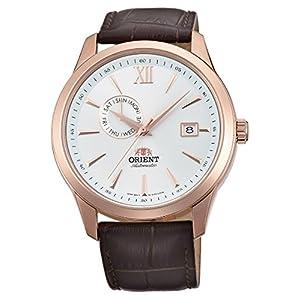 Orient Reloj Analógico para Hombre de Automático con Correa en Cuero FAL00004W0