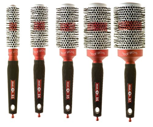 Head Jog 'HEAT WAVE' Ceramic Ionic 5 piece Brush Set