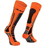 Chaussettes moto cross/Off Road Acerbis MX PRO L-XL NERO-ARANCIO