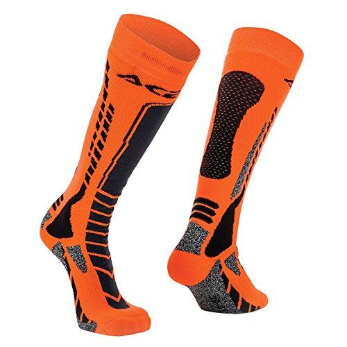 Acerbis Motocross Socken MX Pro schwarz/orange