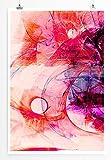 Freunde bleiben - modernes abstraktes Bild Sinus Art - Bilder, Poster und Kunstdrucke