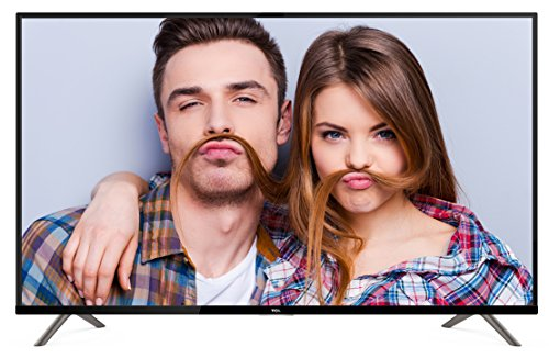 TCL U55S6906 Television (Ultra HD, Triple Tuner, Smart TV) Black