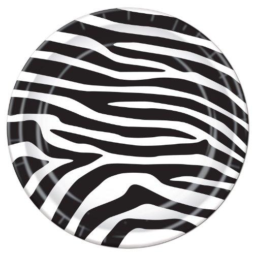 Beistle Zebra Print Teller (8/Pkg)