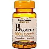Sundown Naturals - B Complex 100% RDV 100 Comprimés