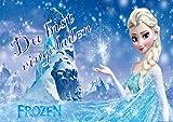 TV-24 Frozen Die Eiskönigin Einladungskarten 12er Set inkl. 12 Umschläge E1
