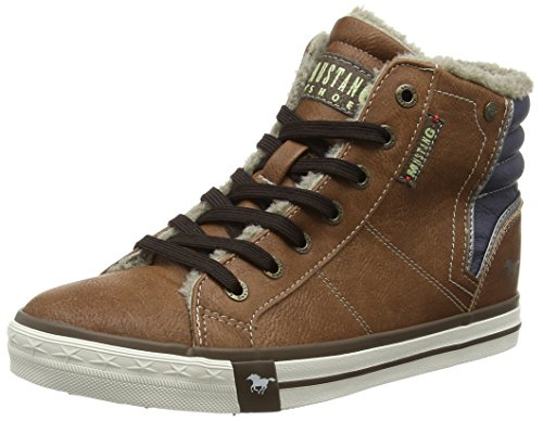Mustang Damen 1146-601-301 High-Top, Braun (301 Kastanie), 38 EU