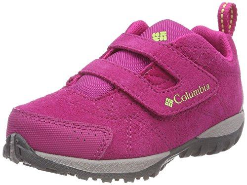 Columbia Scarpe da Bambina per Camminata e per Escursioni, CHILDRENS VENTURE, Rosa (Haute Rosa, Napa Verde), Misura: 26