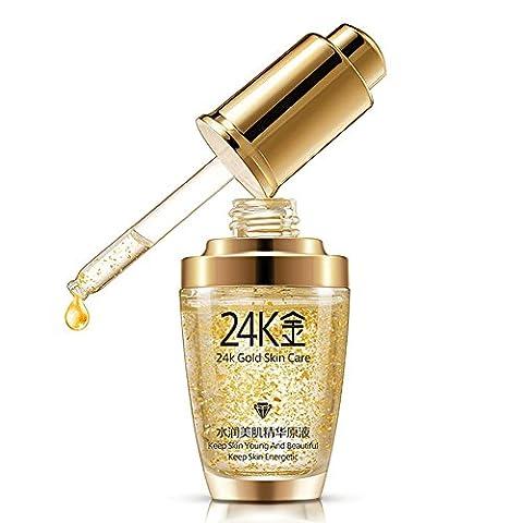 ROMANTIC BEAR Pure 24K Gold Essence Anti Wrinkle Whitening Collagen