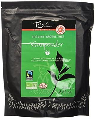 Touch Organic Thé Vert Vrac Gunpowder Eco 250 g - BIO - Lot de 3