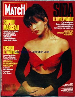 Panique En Atlantique - PARIS MATCH [No 2025] du 18/03/1988 -