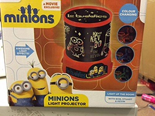 Minions cattivissimo me luce che cambia colore proiettore cameretta bambini luce lampada