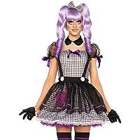 Leg AVENUE 85370 - Dead Eye Dolly para disfraz
