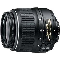 Nikon AF-S DX Nikkor Objectif zoom 18-55 mm 1:3.5-5.6G Objectif ED II Noir