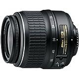 Nikon AF-S DX Zoom-Nikkor 18-55mm 1:3,5-5,6G ED II Objektiv (52 mm Filtergewinde) schwarz