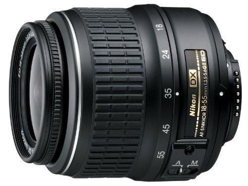 Galleria fotografica Nikon AF-S DX Zoom-Nikkor 18-55mm 1:3.5-5.6G ED II Lens Black