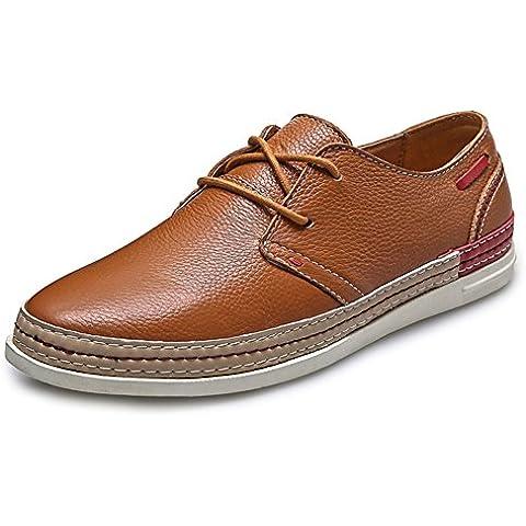 Zapato ocasional de hombres/ hombres cuero zapato destellos de Inglaterra/ zapatos primavera verano/De