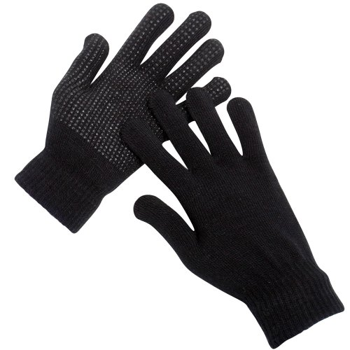 mega-deal-3-pairs-mens-magic-stretch-gripper-winter-outdoor-thermal-gloves-black