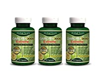 Garcinia Cambogia 3000 Mg 95% HCA - Effective Weight Loss - Pack of 3